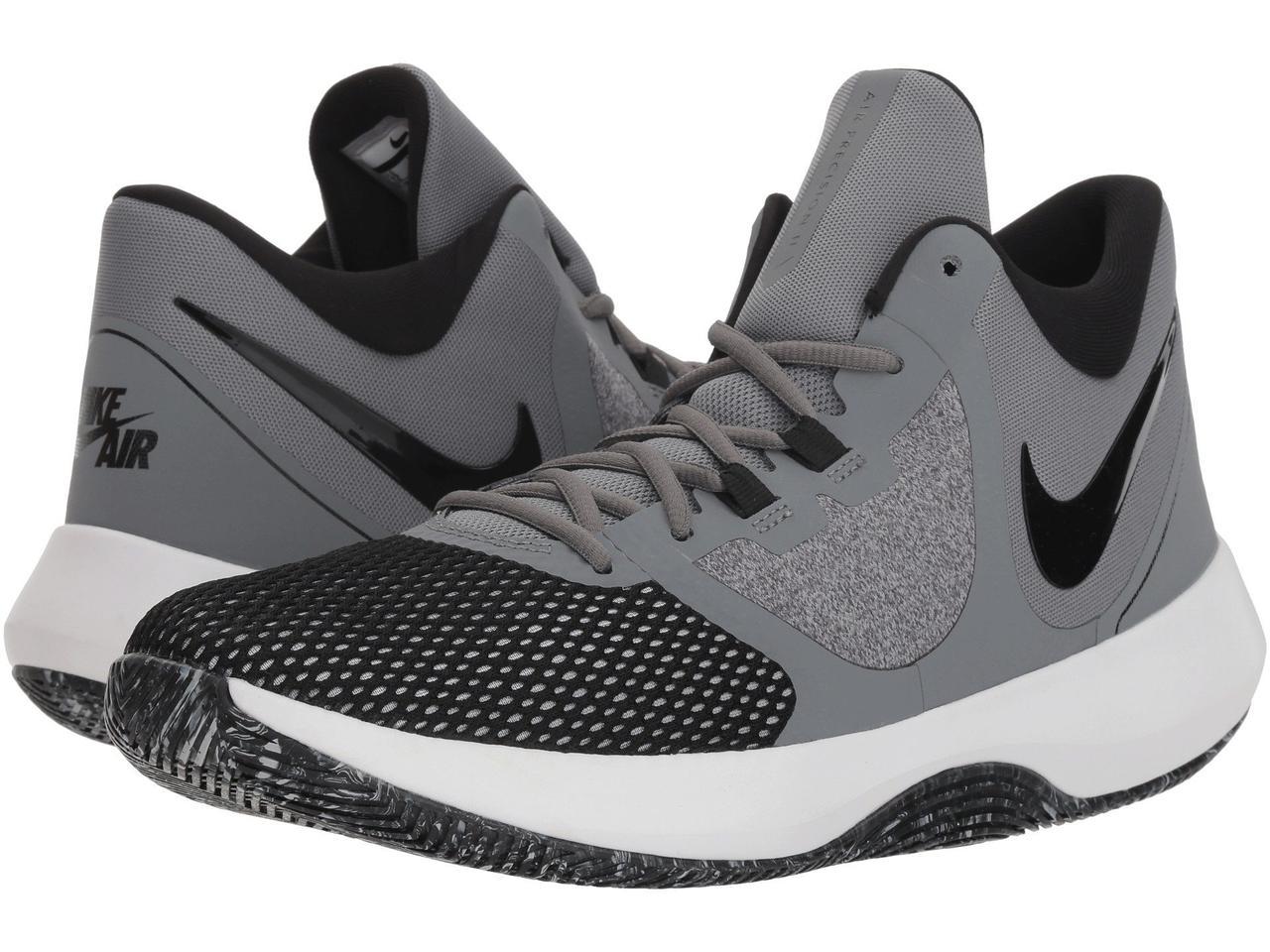 premium selection c6406 7cd46 Кроссовки Кеды (Оригинал) Nike Air Precision II Cool Grey Black White
