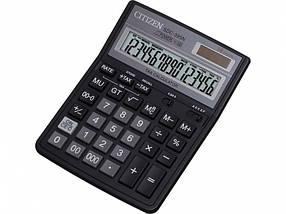 Калькулятор Citizen SDC-395N 16 разряд, 143х192х39,5, пласт корп, пласт кн