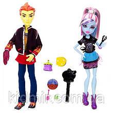Набор кукол Monster High Хит Бёрнс и Эбби Боминейбл (Abbey Bominable & Heath Burns) Монстр Хай