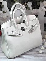 Женская сумка Гермес Биркин 35 см белая (реплика) baf001dc1da5c
