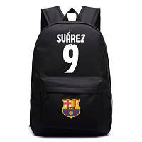 Рюкзак спортивный Suarez 9 FC Barcelona черный, фото 1