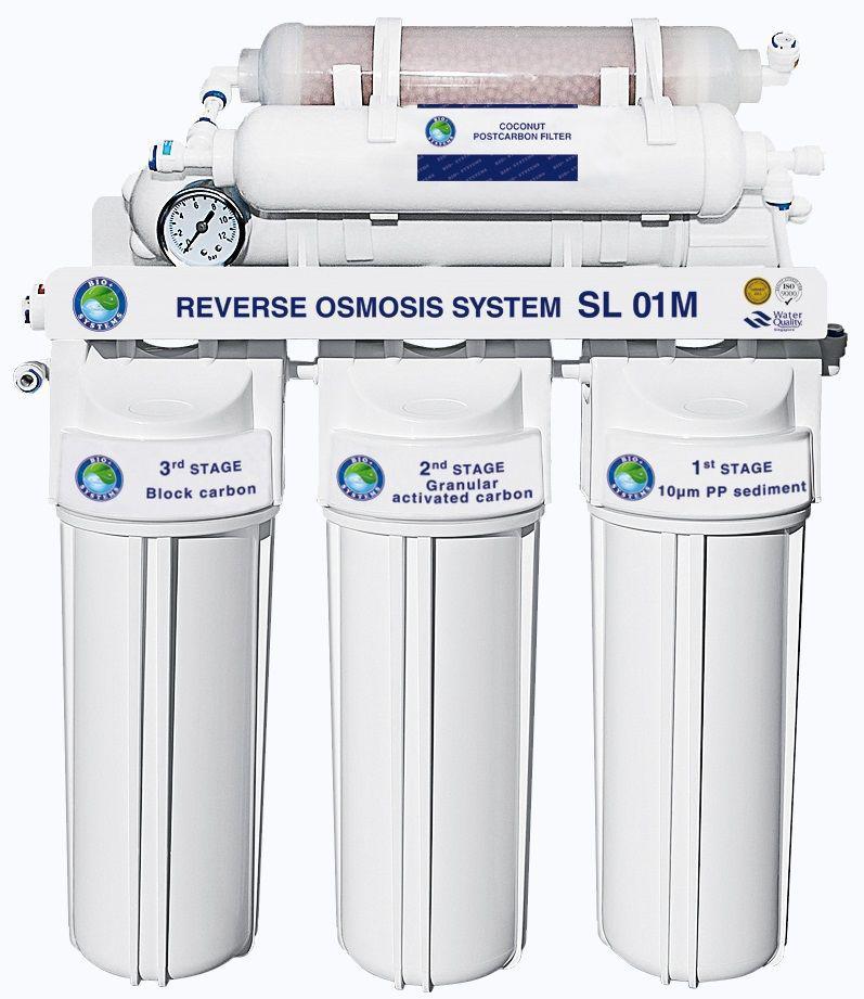 Система обратного осмоса BIO+systems RO-50-SL01M-NEW + минерализатор