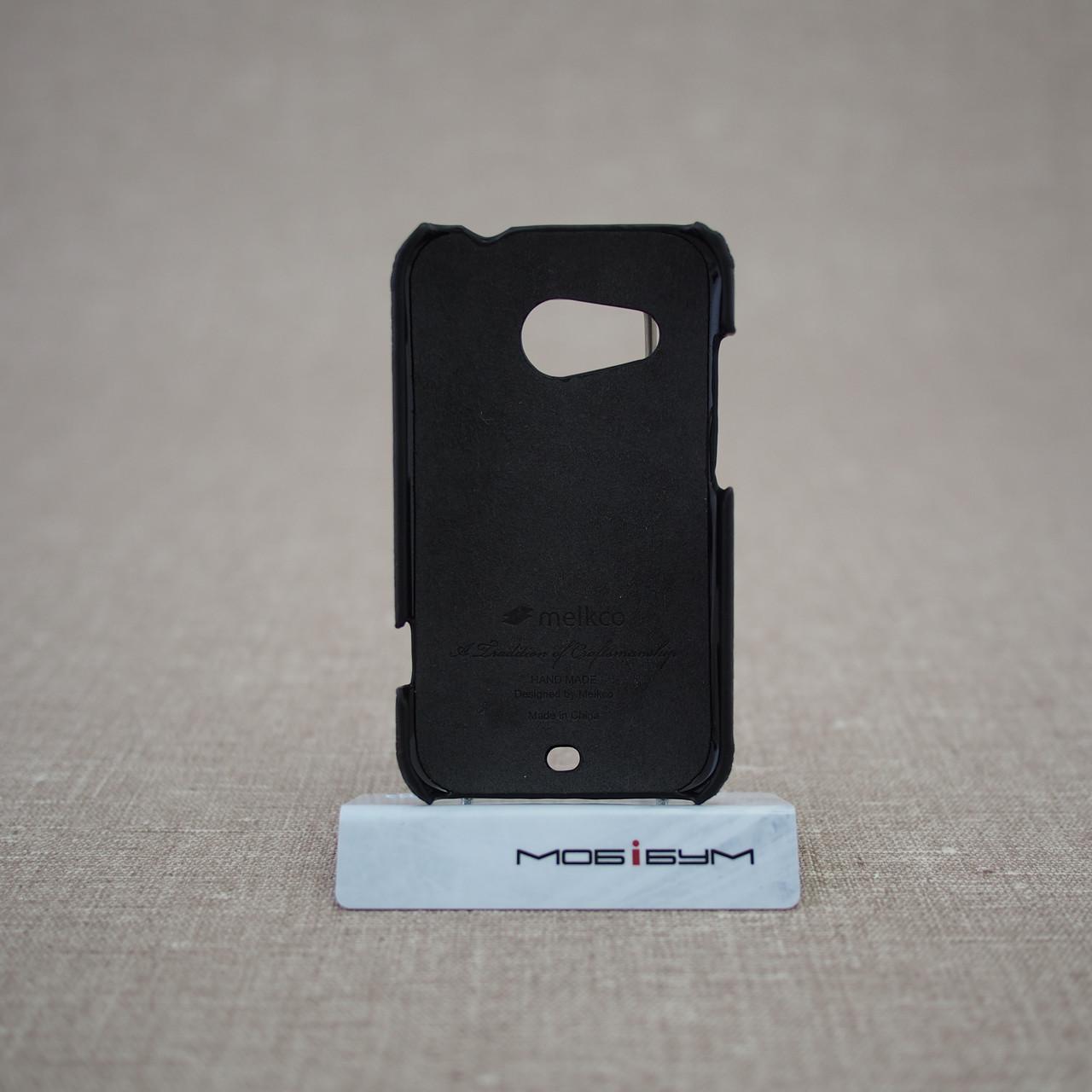 Чехлы для других смартфонов Melkco Snap Cover HTC Desire 200 black Для телефона
