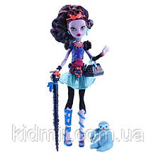 Кукла Monster High Джейн Булитл (Jane Boolittle) с ленивцем базовая Монстр Хай