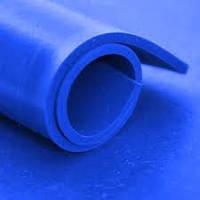 Синий силиконовый лист, толщина 1,0 мм