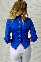 Жакет с пуговками на спине, арт. 014, синий, фото 1