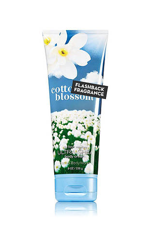 Крем для тела Bath&Body Works Cotton Blossom Ultra Shea Body Cream, фото 2