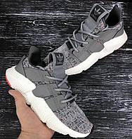 Мужские летние кроссовки Adidas 40-44р, высококачественный текстиль,  комплекте фирменная коробка , фото 1