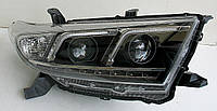 Toyota Highlander оптика передняя ксеноновая с DRL