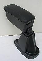 Toyota Yaris 3 подлокотник Botec черный виниловый