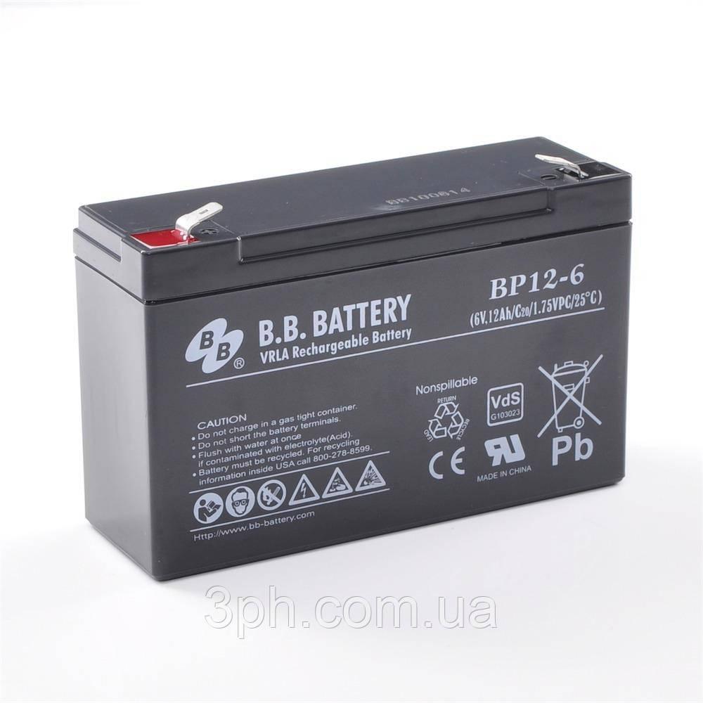 BB Battery Bp 12 6