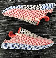 Мужские летние кроссовки Брендовые цветные  40-44р, высококачественный текстиль,  комплекте фирменная коробка , фото 1