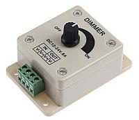 LED диммер светодиодной ленты / лампы 12-24 В, 8 А, фото 1