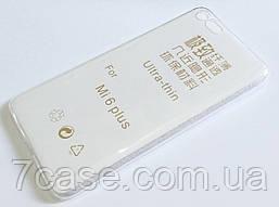 Чехол для Xiaomi Mi 6 Plus силиконовый ультратонкий прозрачный