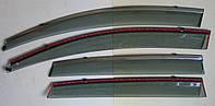 Honda CR-V Mk4 ветровики дефлекторы окон ASP с молдингом нержавеющей стали / sunvisors