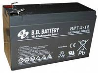 Аккумуляторная Батарея B. B. Battery Вр 7,2 -12