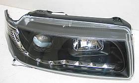 Volkswagen Passat B4 оптика передняя черная, фото 2