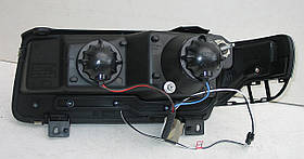 Volkswagen Passat B4 оптика передняя черная, фото 3