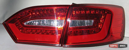 Volkswagen Jetta Mk6 оптика задняя светодиодная LED красная V2, фото 2