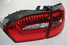 Volkswagen Jetta Mk6 оптика задняя светодиодная LED красная V2, фото 3