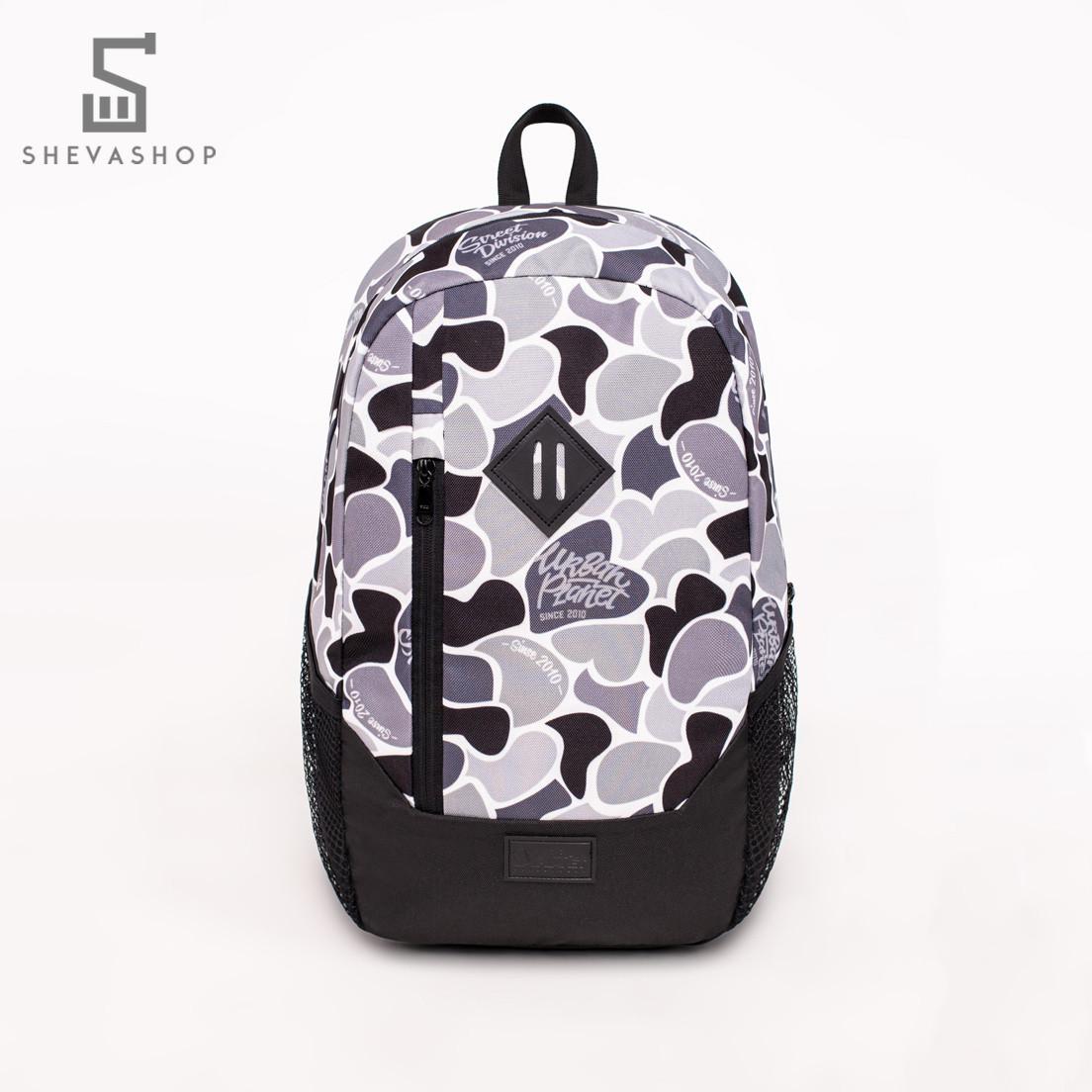 Рюкзак UP B9 DUCK CAMO BW серый камуфляж