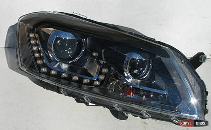 Volkswagen Passat B7 оптика передняя альтернативная ксенон, фото 2