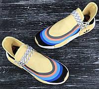 Мужские летние кроссовки Pharrell Williams  40-44р, высококачественный текстиль,  комплекте фирменная коробка , фото 1