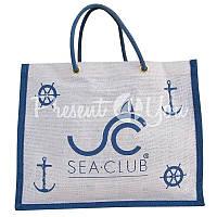 Морской сувенир сумка для покупок, 36х28х12 см., арт. 9999 Sea Club