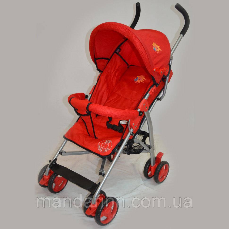 Прогулочные  коляски Sigma S700  Красная