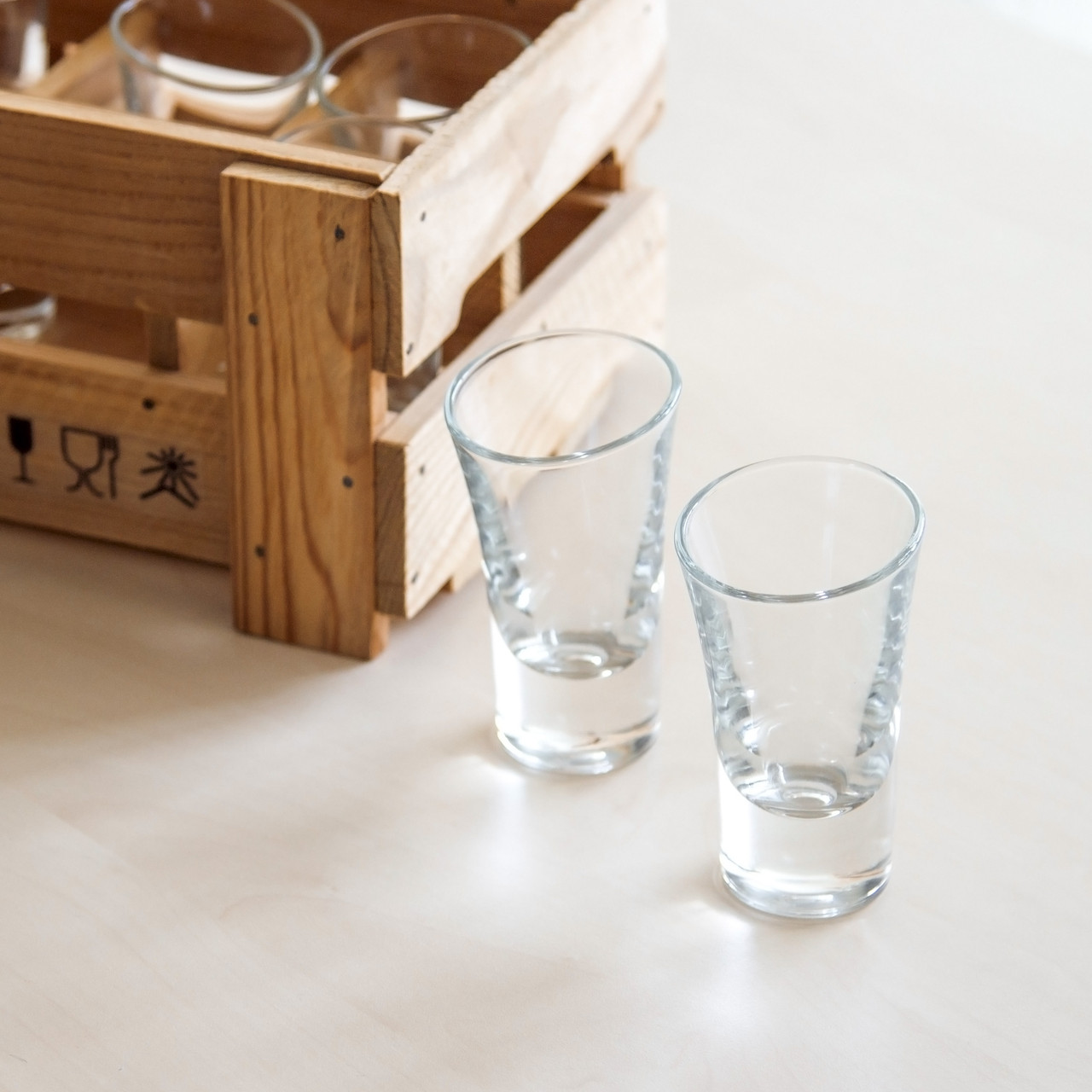 Набор пьяных рюмок для текилы