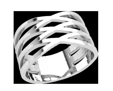 Кольцо  женское серебряное ХХХ 21209