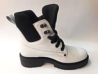 Ботинки зимние женские из натуральной кожи, фото 1