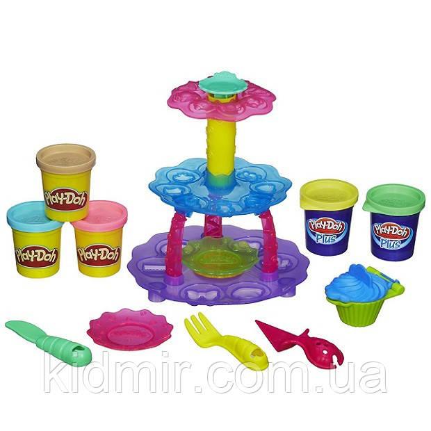 Плей-До набор пластилина Башня кексов Play-Doh Cupcake Tower Hasbro A5144