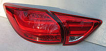 Mazda CX-5 оптика задняя тюнинг, фонари LED красные / taillights CX-5 red LED, фото 3