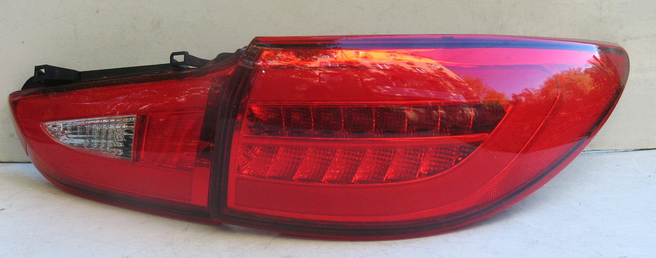 Mazda 6 оптика задняя тюнинг, фонари LED красные / taillights Atenza red LED