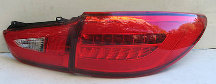 Mazda 6 оптика задняя тюнинг, фонари LED красные / taillights Atenza red LED, фото 2