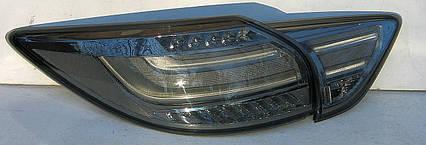 Mazda CX-5 оптика задняя тюнинг, фонари LED хром / taillights CX-5 chromed LED, фото 2