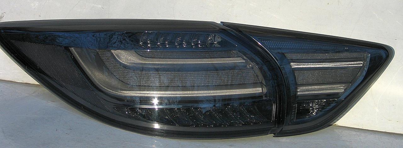 Mazda CX-5 оптика задняя тюнинг, фонари LED черные / taillights CX-5 smoked LED