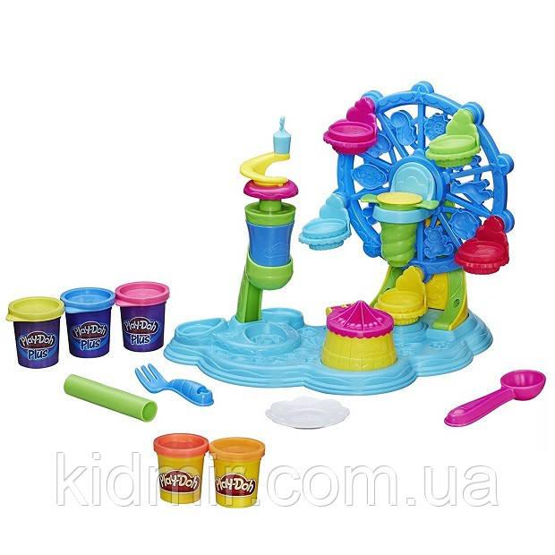 Плей-До набор пластилина Карнавал сладостей Play-Doh Cupcake Celebration Hasbro B1855