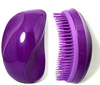 Расческа для волос мягкая 5042 фиолетовая Dagg , фото 1