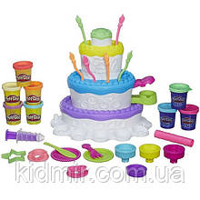 Плей-До набор пластилина Праздничный торт 2 в 1 Play-Doh Sweet Shoppe Cake Hasbro A9304