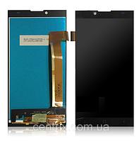 Дисплей (экран) для Prestigio MultiPhone PSP5506 Grace Q5 + тачскрин, цвет черный