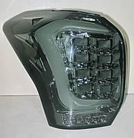 Subaru Forester SJ оптика задняя альтернативная ,фонари тюнинг диодные тонированный хром / LED taill