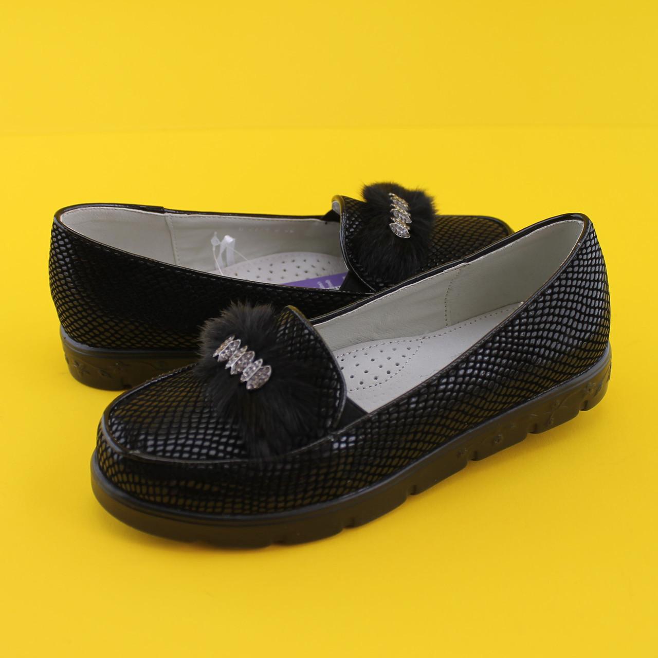 Туфли в школу для девочек 3774B Tom.m размер 32,35