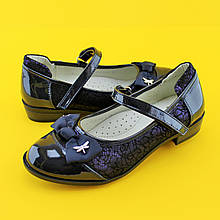 Туфли школьная классика для девочек 1444A Tom.m размер 35,36