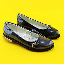 Туфли для девочек Серебро 3750A Tom.m размер 33,34,35,36