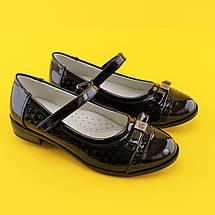 Туфли для девочек школьная классика 1443B Tom.m размер 36,38, фото 3
