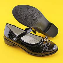 Туфли для девочек школьная классика 1443B Tom.m размер 36,38, фото 2