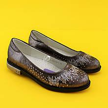 Туфли для девочек Стразики 3749C Tom.m размер 32,35,36,37