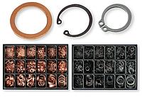 Шайбы и кольца стопорные, наборы